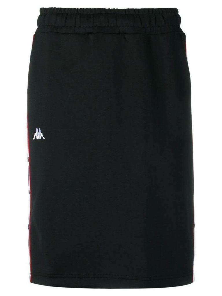 Kappa jogging track style skirt - Black