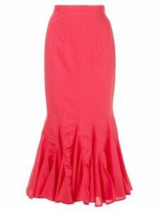 Rhode Resort Sienna long skirt - Red