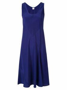 Aspesi midi flared dress - Blue