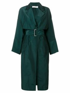 Victoria Beckham belted trench coat - Green