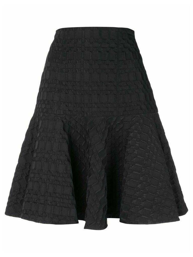 Josie Natori jacquard skirt - Black