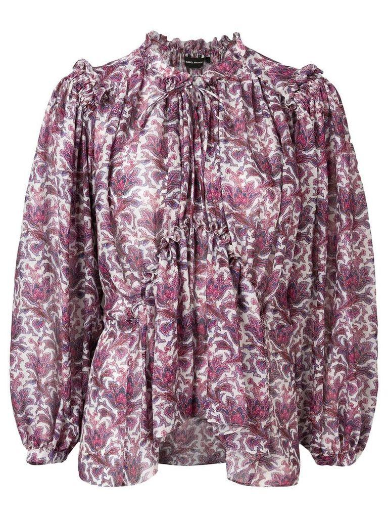 Isabel Marant Noon blouse - Purple