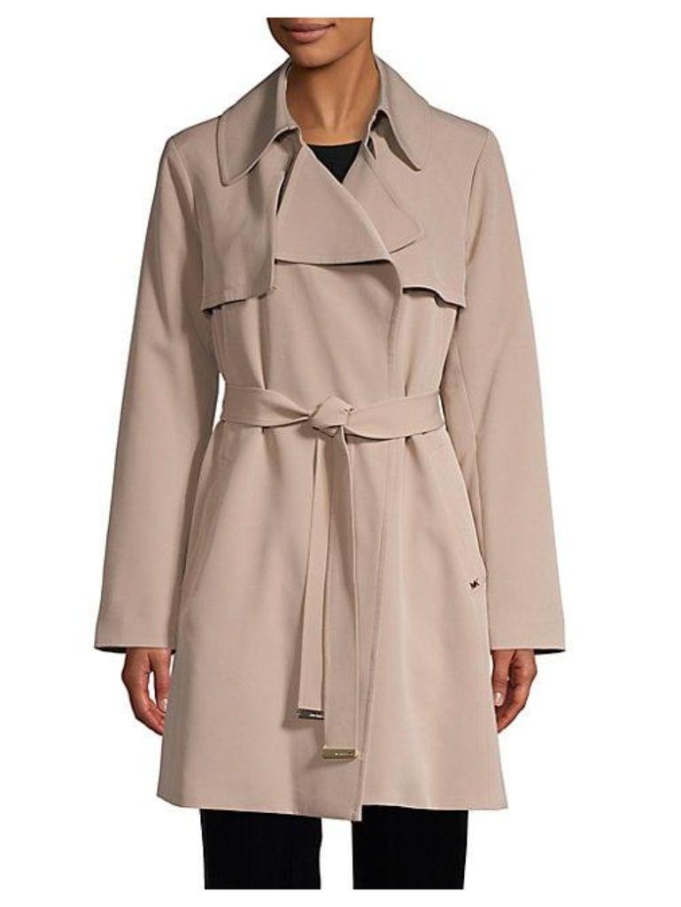 Drape Trench Coat