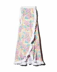 All Things Mochi Lea Floral Wrap Skirt