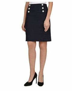 Gerard Darel Irene Button-Detail Skirt