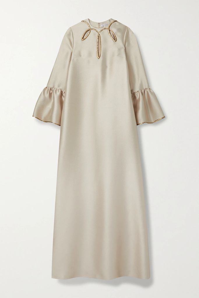 STAND - Debbie Oversized Coated Linen And Cotton-blend Coat - Beige