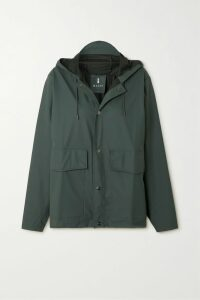 Nicholas - Button-embellished Linen Midi Skirt - Orange