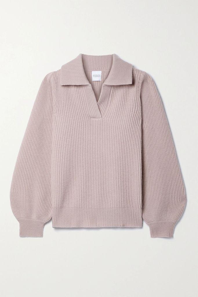 Jenny Packham - Olivia Embellished Tulle And Cady Midi Dress - Black