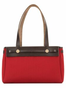 Hermès Pre-Owned Her Bag Cabas PM 2 in 1 shoulder tote bag - Red