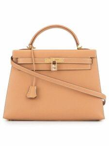 Hermès Pre-Owned Kelly 32 2ways shoulder hand bag - Brown