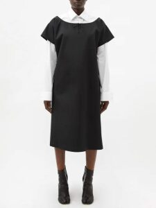 Queene And Belle - V Neck Cashmere Sweater - Womens - Red