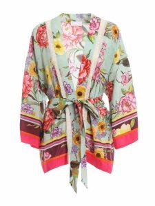Parosh Habutay Printed Kimono