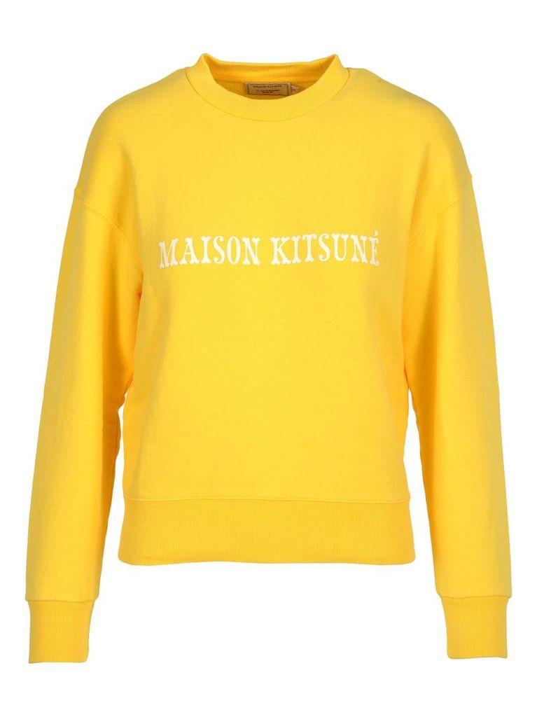 Maison Kitsune Maison Kitsuné Logo Print Sweatshirt