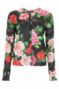 Dolce & Gabbana Roses And Lace Cardigan
