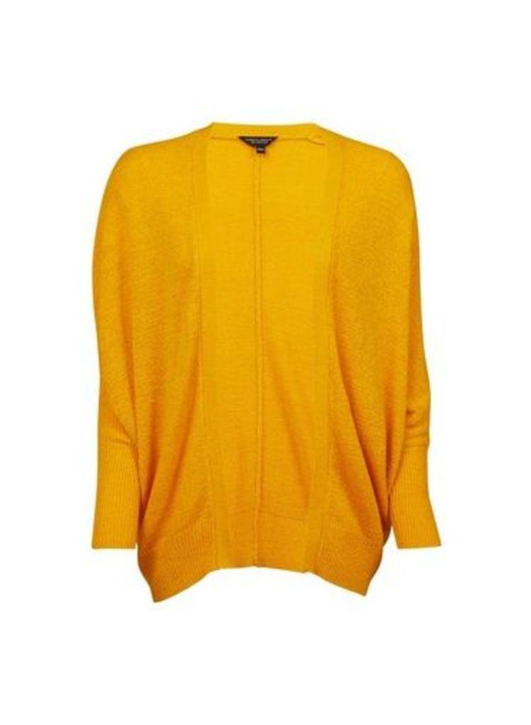 Womens Yellow Tape Cardigan- Orange, Orange