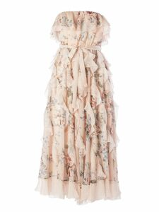 Zimmermann Floral Print Midi Dress