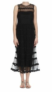 Red Valentino Point Desprit Dress