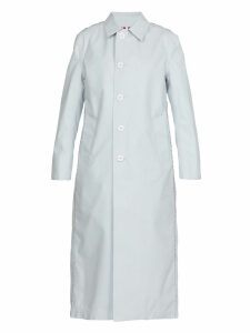 Thom Browne Reversible Coated Wool Raincoat