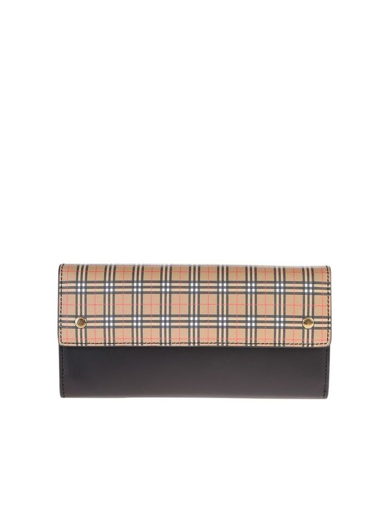 Burberry Checked Clutch