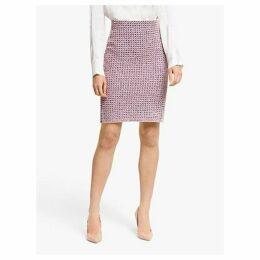 Winser London Cotton Tweed Pencil Skirt