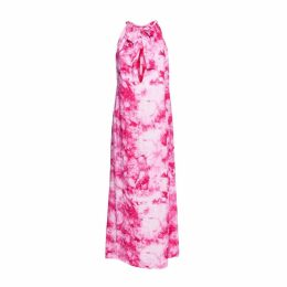 CoCo VeVe - Tie Dye Isla Maxi Dress In Pink
