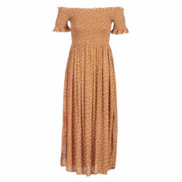 Rip Curl  CLUB HAVANA  women's Long Dress in Brown