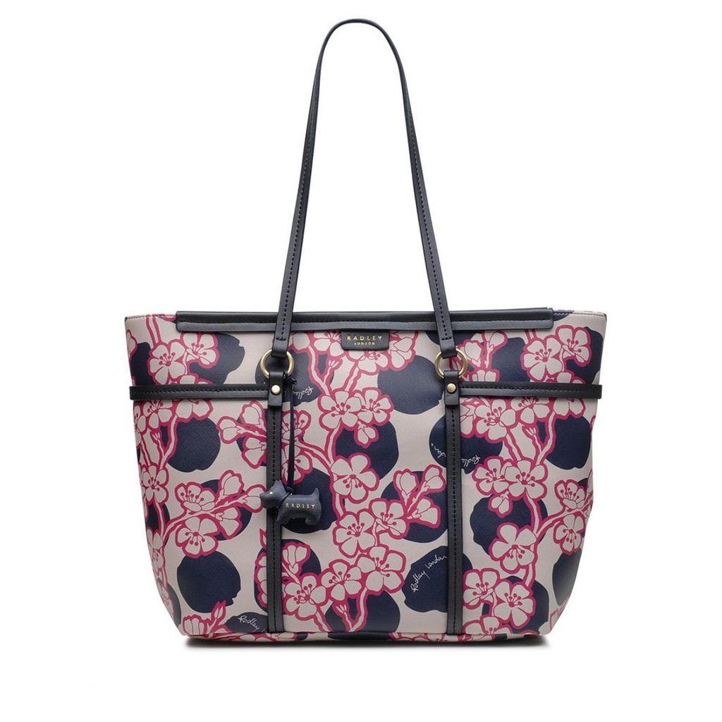 Radley London Blossom Spot Large Zip-Top Shoulder Bag