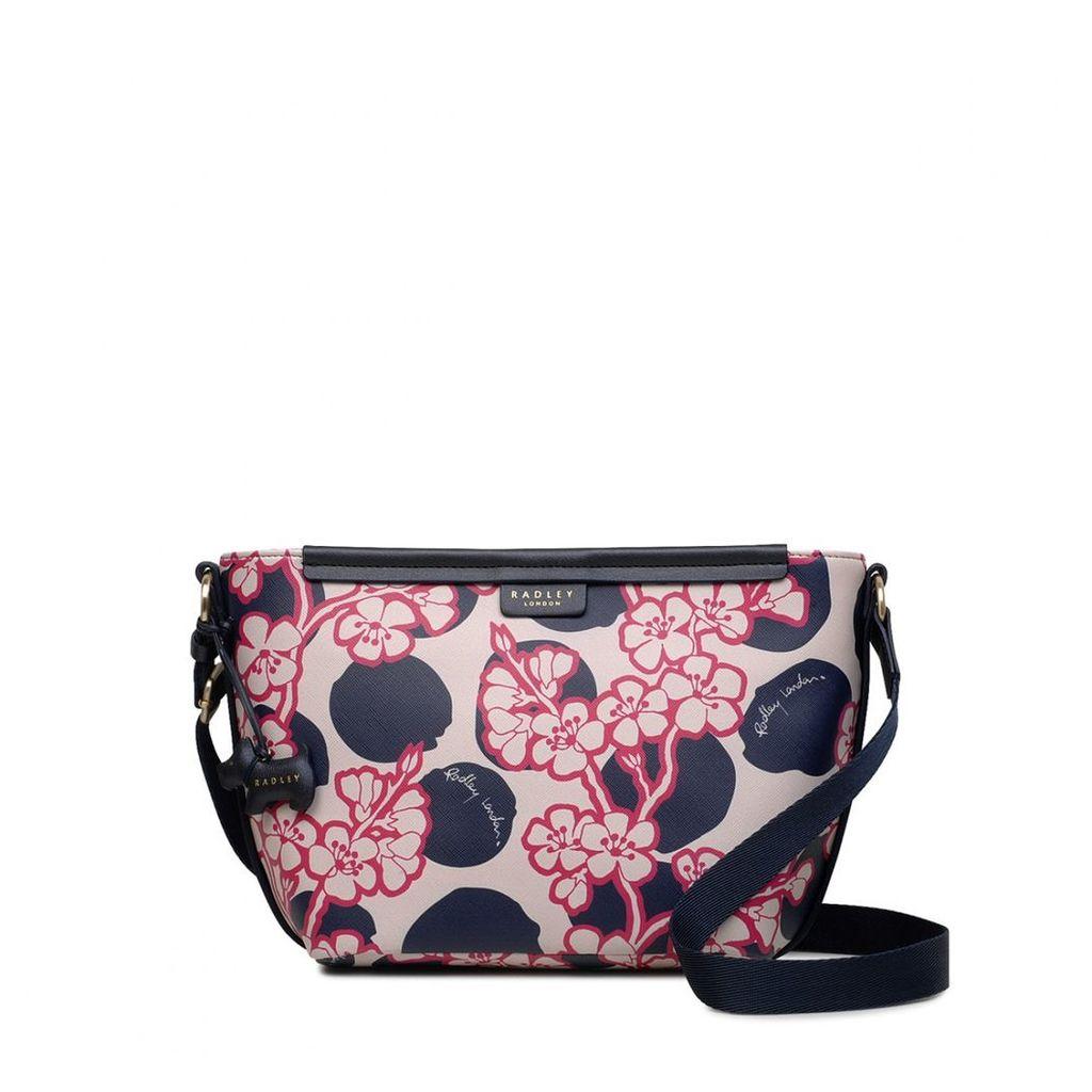 Radley London Blossom Spot Medium Zip-Top Cross Body Bag