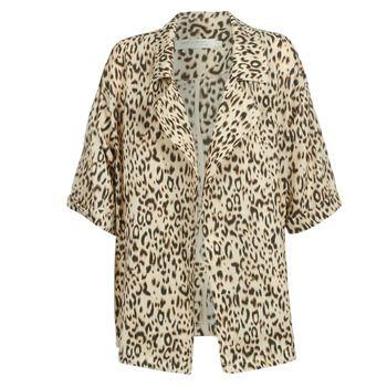 See U Soon  GARAGA  women's Trench Coat in Beige