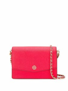 Tory Burch Robinson Convertible Mini Shoulder Bag - Red
