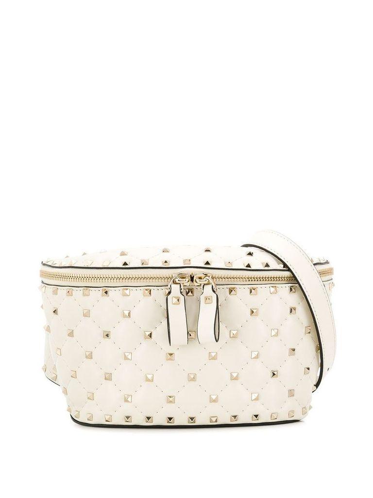 Valentino Valentino Garavani Rockstud Spike belt bag - White