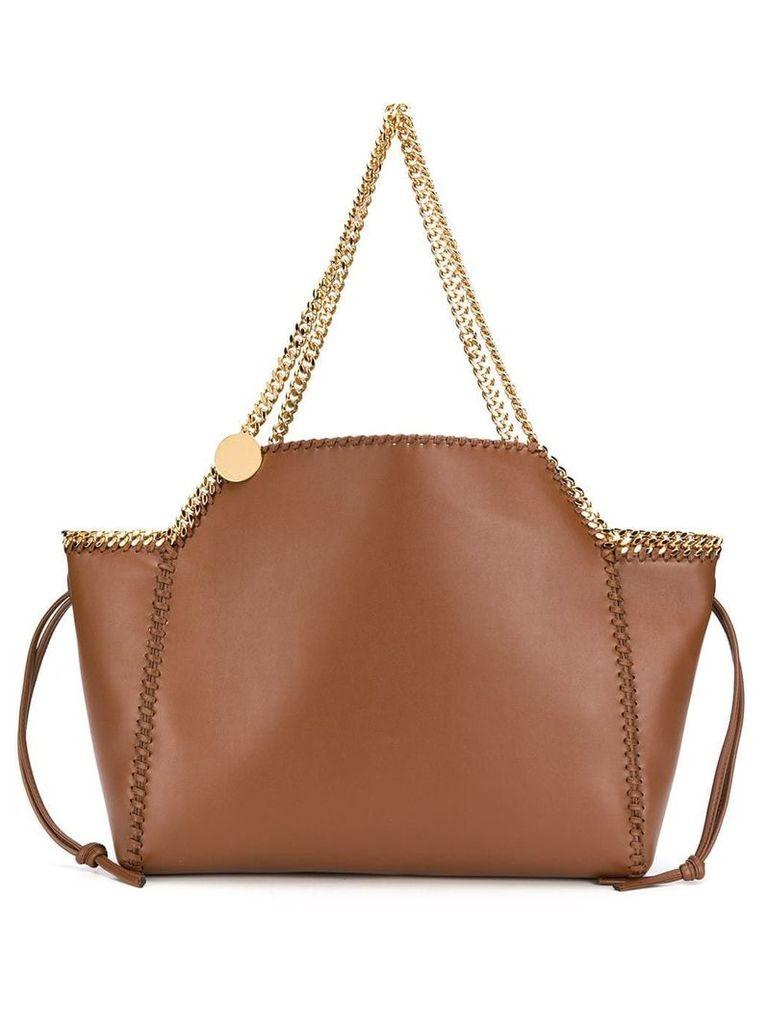 Stella McCartney Falabella reversible tote bag - Brown