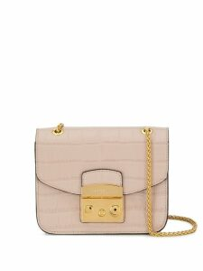 Furla mini Metropolis crossbody bag - Neutrals