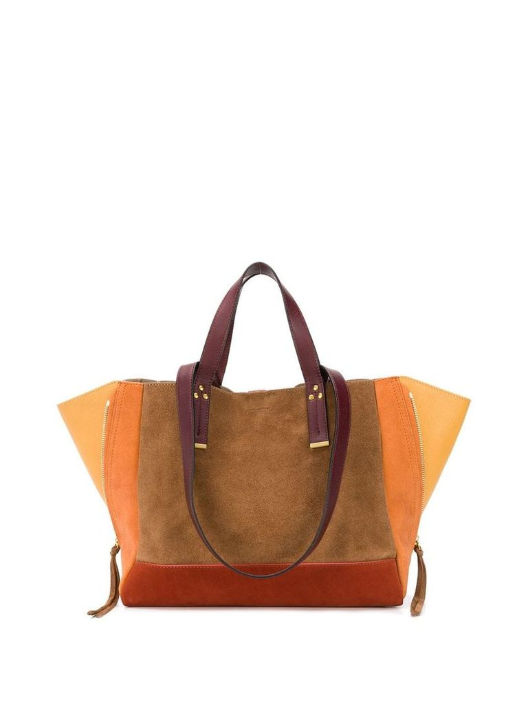 Jérôme Dreyfuss Georges tote - Brown