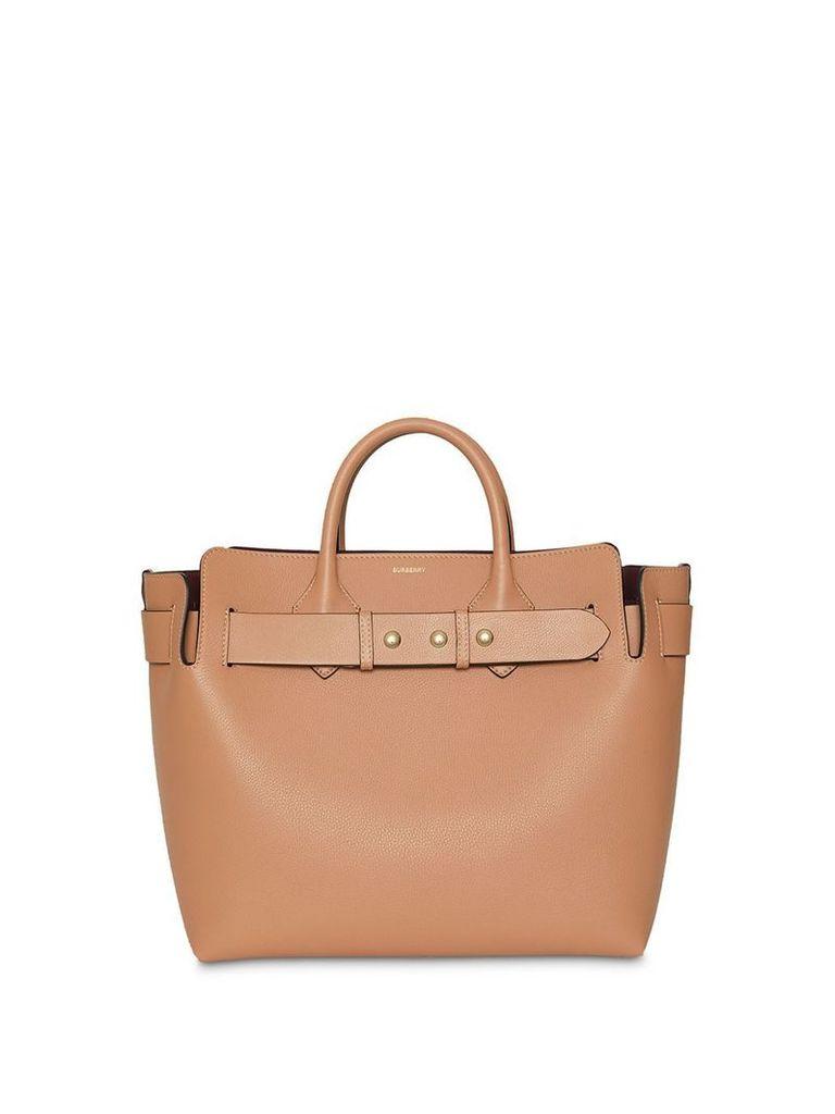 Burberry The Medium Leather Triple Stud Belt Bag - Brown