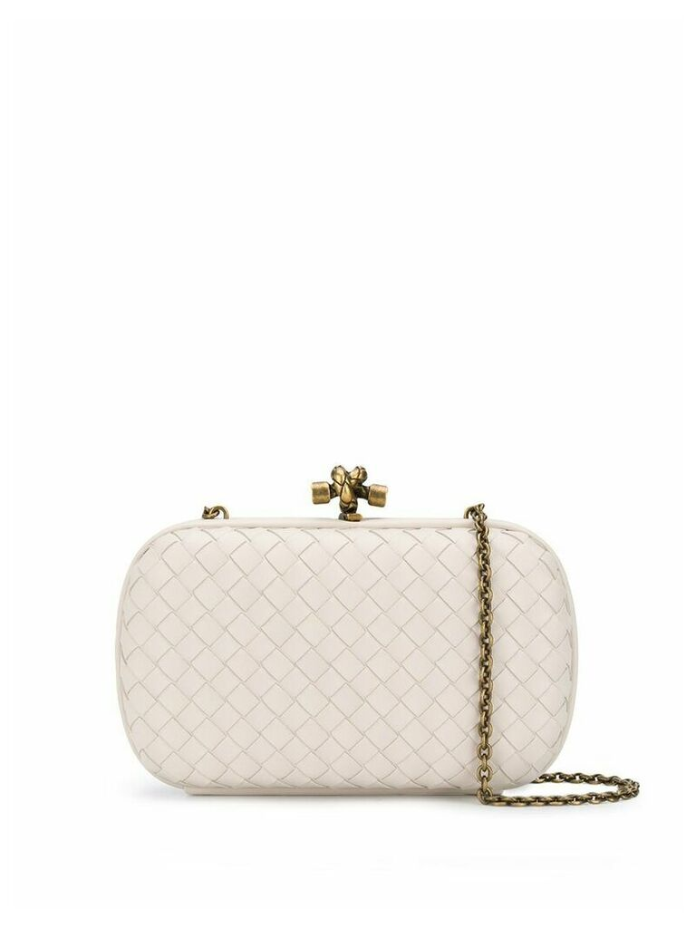 Bottega Veneta Knot clutch bag - Neutrals