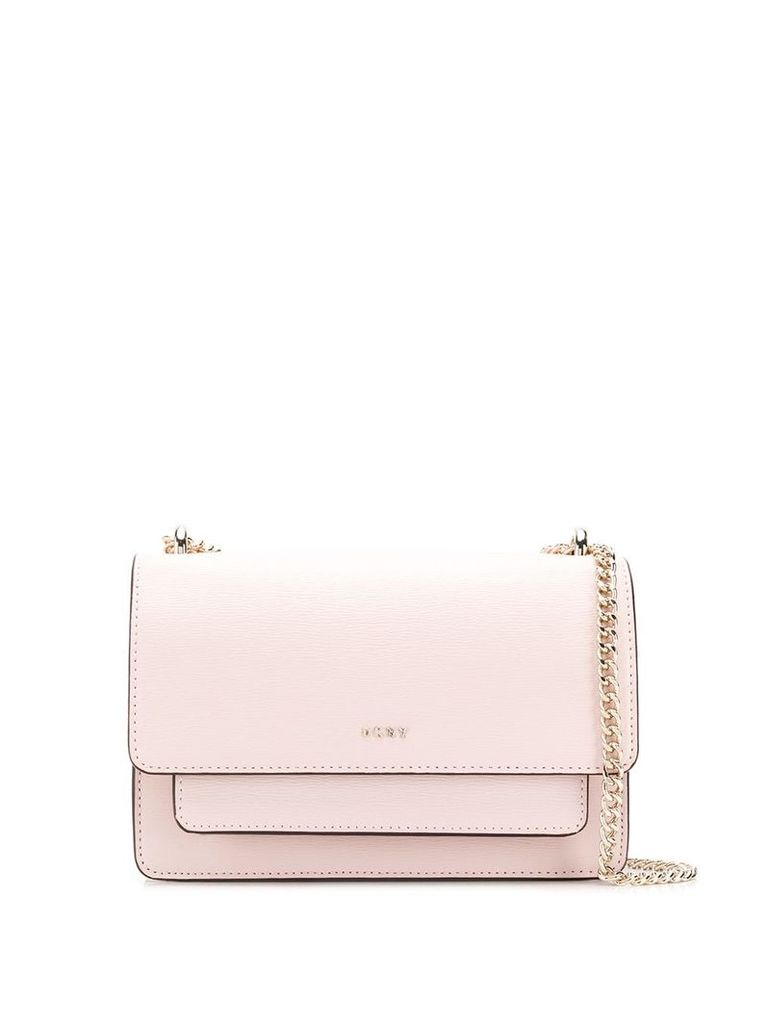 DKNY small Bryant Flap crossbody bag - Pink