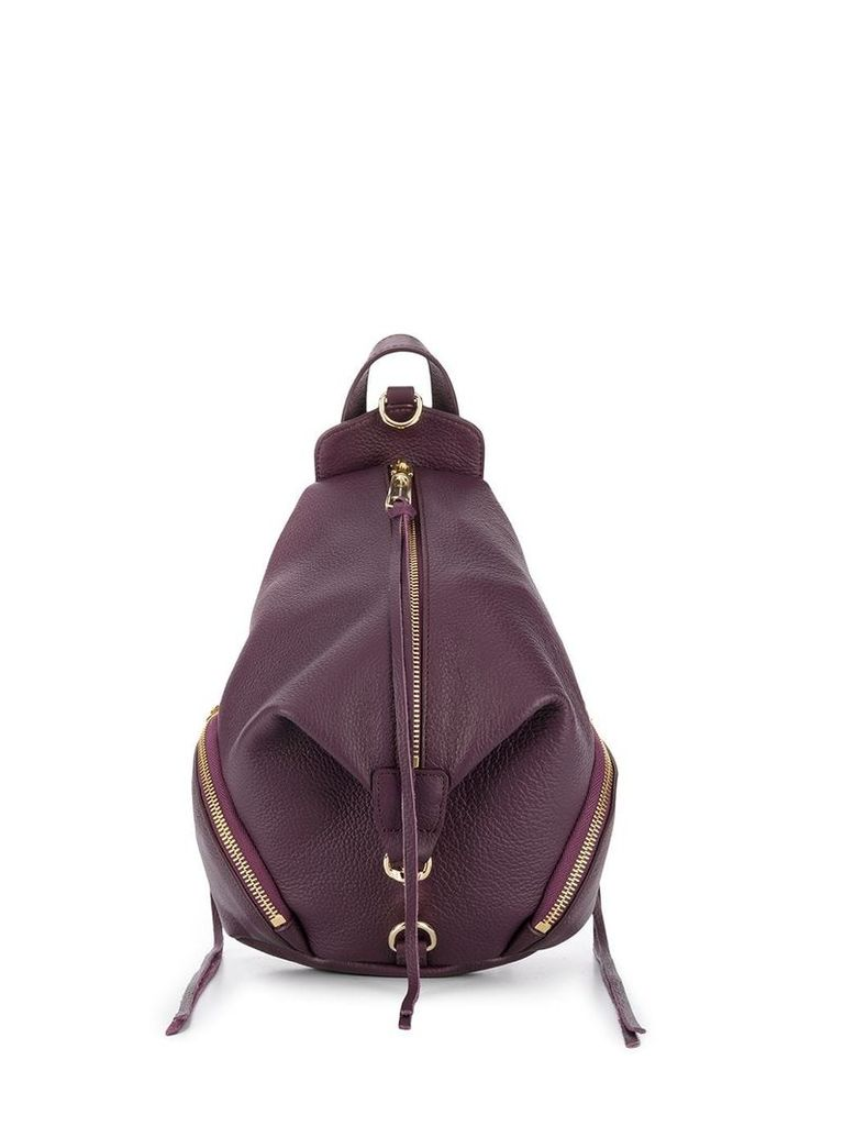 Rebecca Minkoff middle zip backpack - Purple
