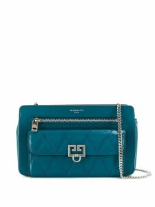 Givenchy quilted crossbody bag - Blue