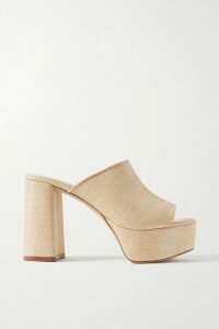 By Malene Birger - Cutout Ruched Stretch-jersey Midi Dress - Yellow