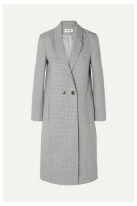 Cefinn - Houndstooth Wool-blend Coat - Blue