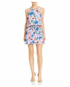 Parker Williame Floral Silk Dress