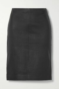 Dries Van Noten - Layered Floral-print Crinkled-organza And Striped Satin Midi Skirt - Blue