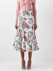 Missoni - Sequinned Striped Lamé Gown - Womens - Multi