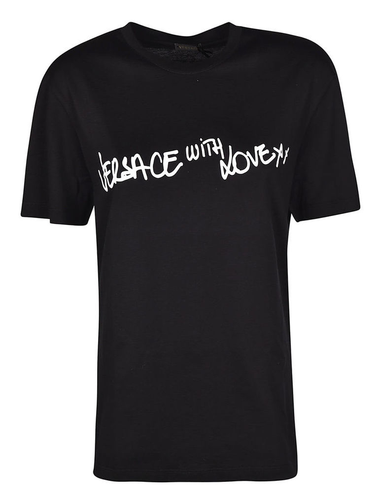 Versace With Love Print T-shirt