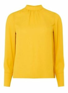 Womens Petite Yellow 'Rosie' Top.- Orange, Orange
