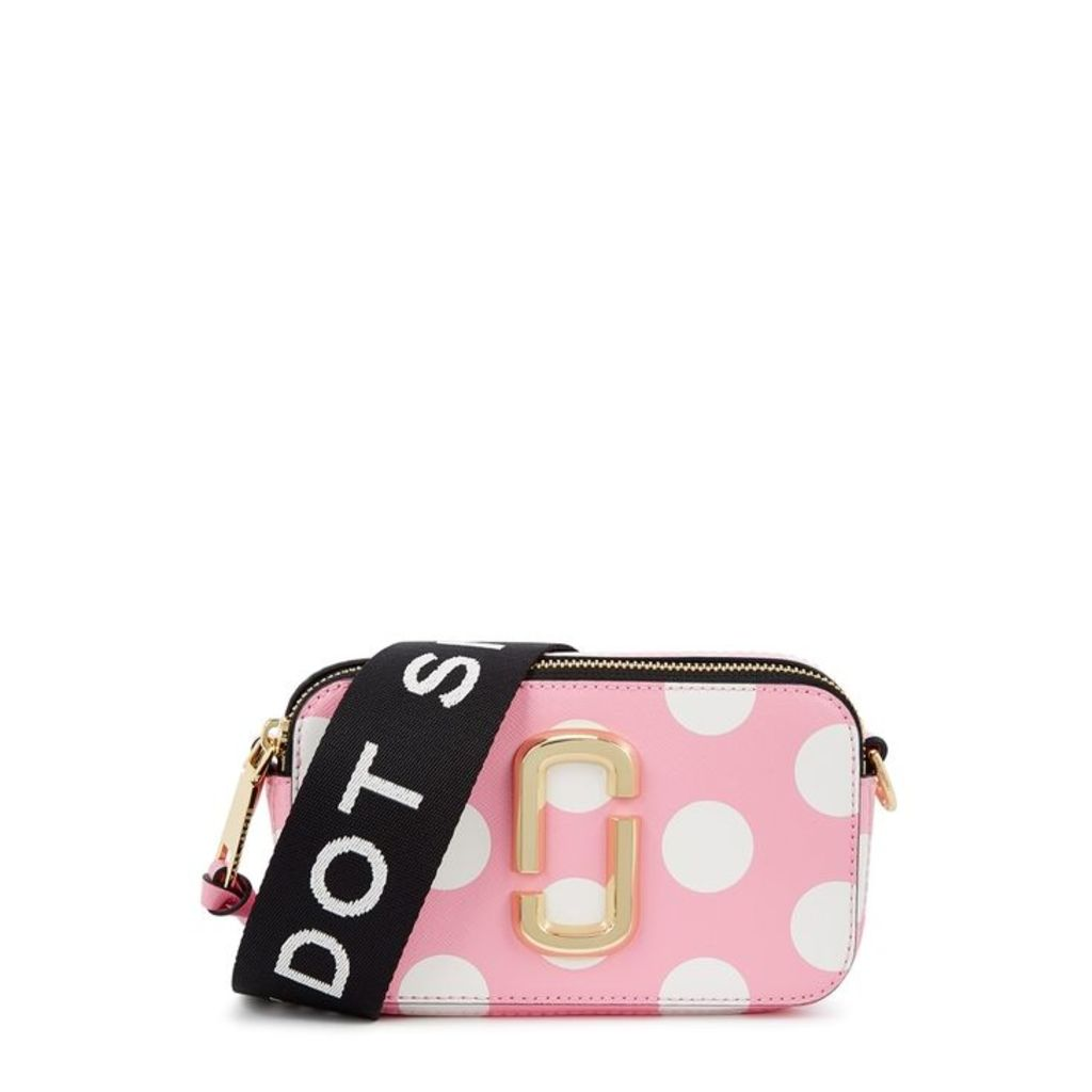 Marc Jacobs The Dot Snapshot Pink Leather Shoulder Bag