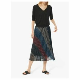 Gerard Darel Indy Skirt, Blue/Multi