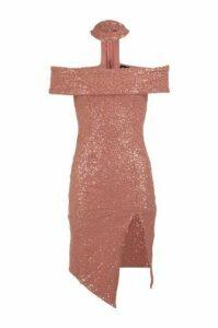 Bardot Choker Dress