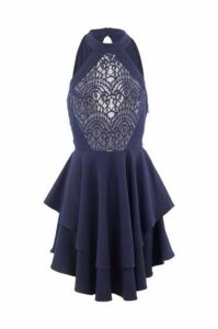Lace Top Layered Dress